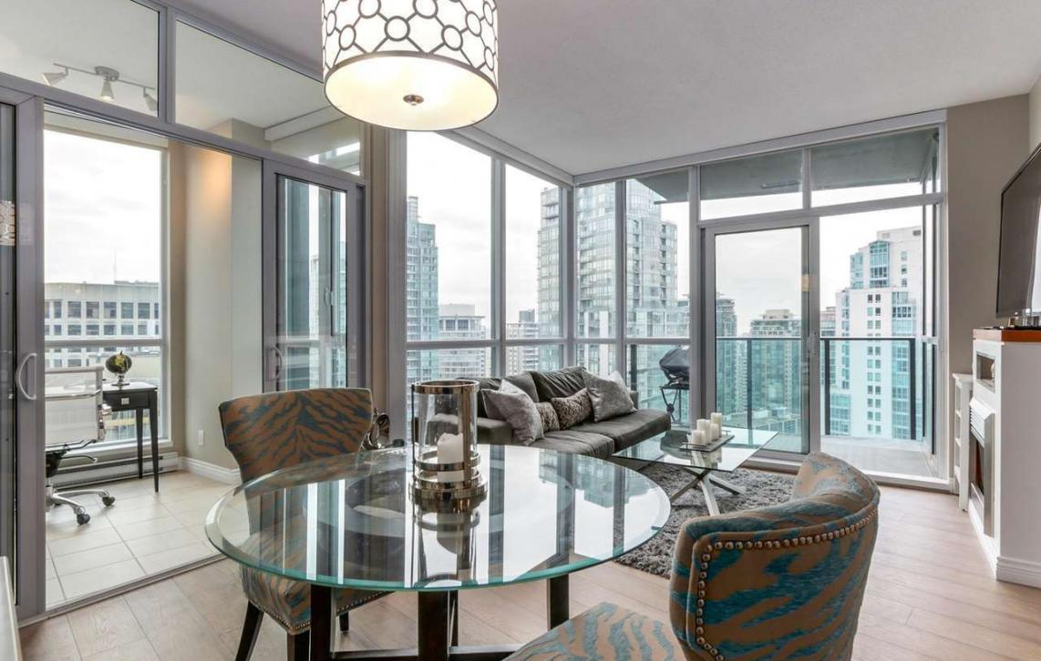 2806 - 1189 Melville, Coal Harbour, Vancouver West